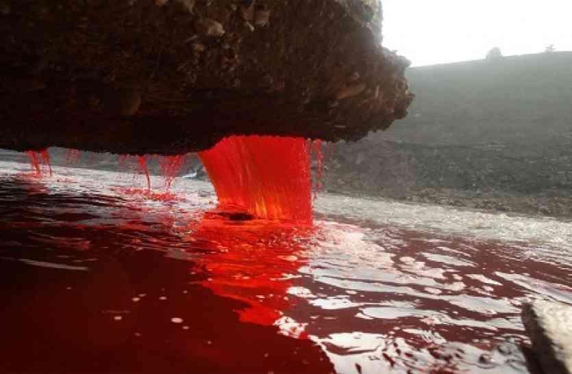 अंटार्कटिका ग्लेशियर से बह रही हैं खून की धाराएं, विज्ञान जगत में मचा हड़कंप