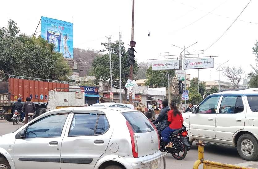 ऐसा क्या हुआ कि रेंग रेंग कर चला जयपुर में ट्रैफिक