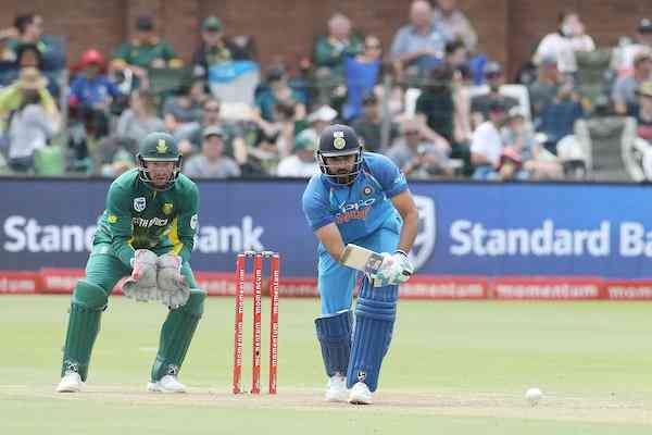 India won the ODI series by beating south Africa by 73 runs in 5th ODI