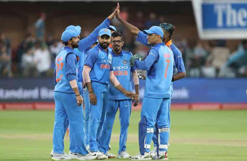 INDvSA 5th odi LIVE: दक्षिण अफ्रीका का छठा विकेट गिरा, भारत जीत की ओर
