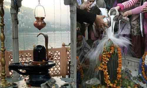 mahashivratri,Jalabhishek,where is waterfall Jalabhishek of Shiva,Jalabhishek news,shiv jalabhishek,Baba Vishwanath Jalabhishek,