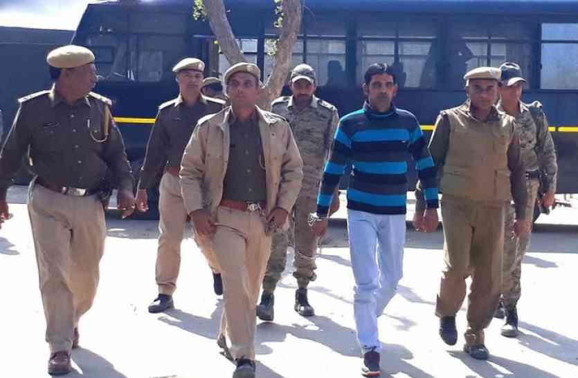 जेल में षडय़ंत्र रचकर अजय की हत्या करवाने का आरोपित बंशी गिरफ्तार