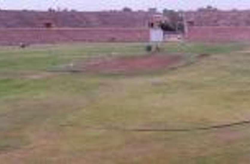 मुख्यमंत्री ने चार बार की स्टेडियमों की घोषणा हुई, पूरी न हुई