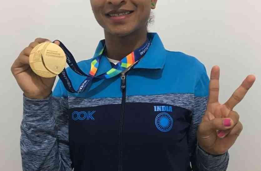 नई उडऩ परी सरिता ने देश के लिए जीता स्वर्ण पदक