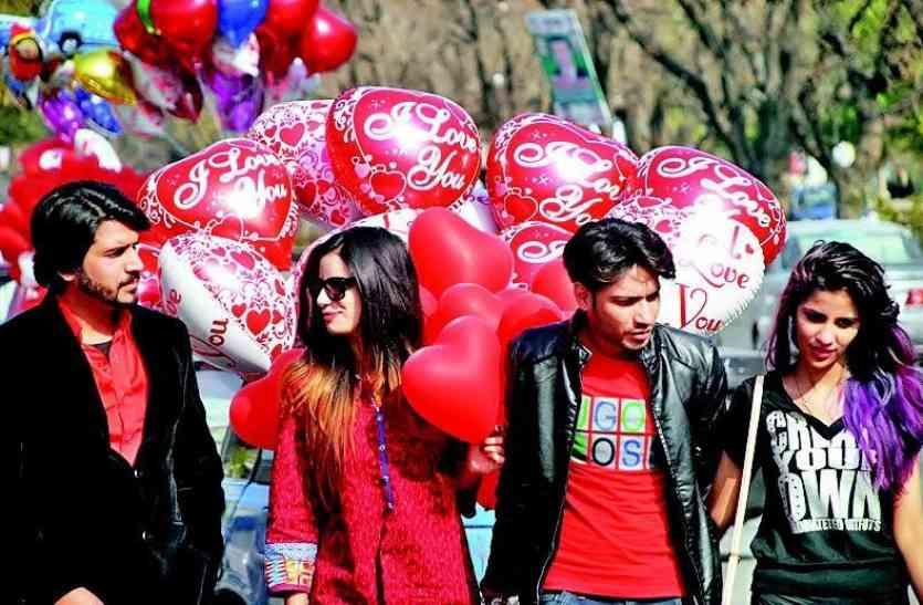 Valentine Special 2018: उदयपुर में इस वजह से बिना डर के लोगों ने किया अपने प्रेम का इजहार, कुछ इस अंदाज में मनाया वेलेन्टाइन डे