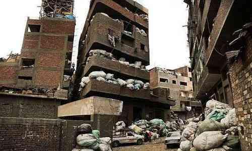 Image result for इजिप्ट के इस शहर में कचरा