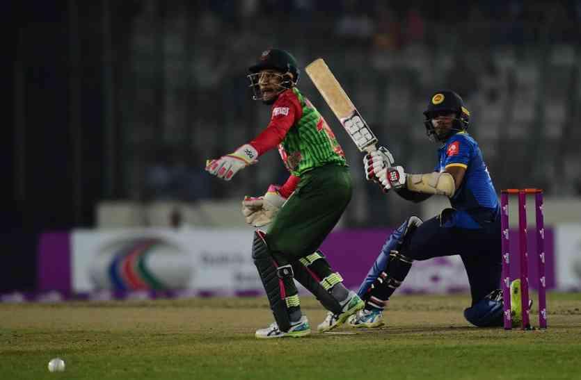 BANvSL: टी-20 में अपना सबसे बड़ा स्कोर बनाकर भी हारा बांग्लादेश