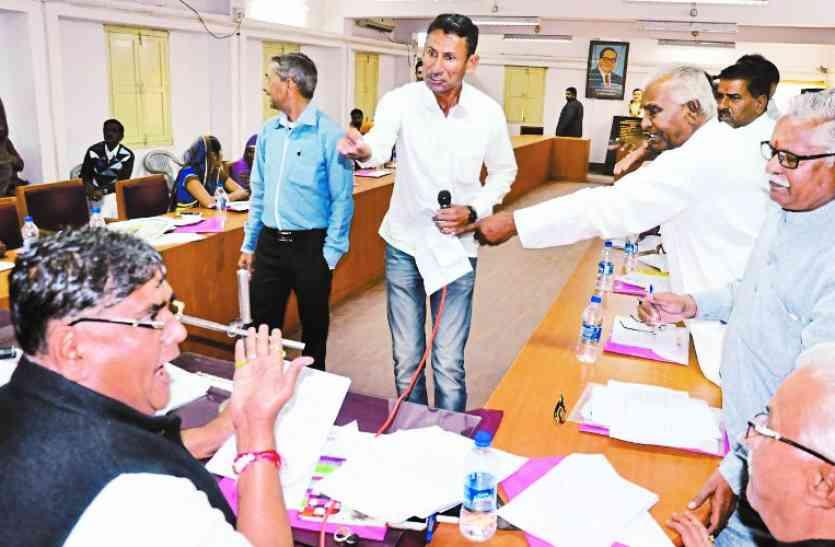 बाड़मेर नगर परिषद की बोर्ड बैठक, शहर की सरकार ने किया 15 मिनट में 67 करोड़ का बजट पारित