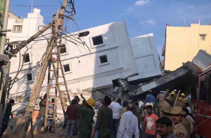 निर्माणाधीन इमारत गिरी, 3 मरे, 15 के मलबे में फंसे होने की आशंका
