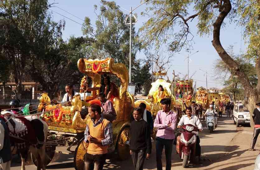 महाशिवरात्रि : देवी मंदिर से निकली भोलेनाथ की बारात