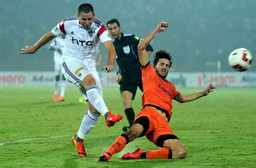 ISL : उचे के गोल से दिल्ली ने नार्थईस्ट को हराया