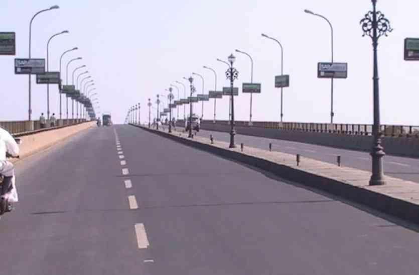 कोर्ट के आदेश पर भी तेज नहीं हुआ केशरबाग ब्रिज का काम, आईडीए कर रहा मनमानी