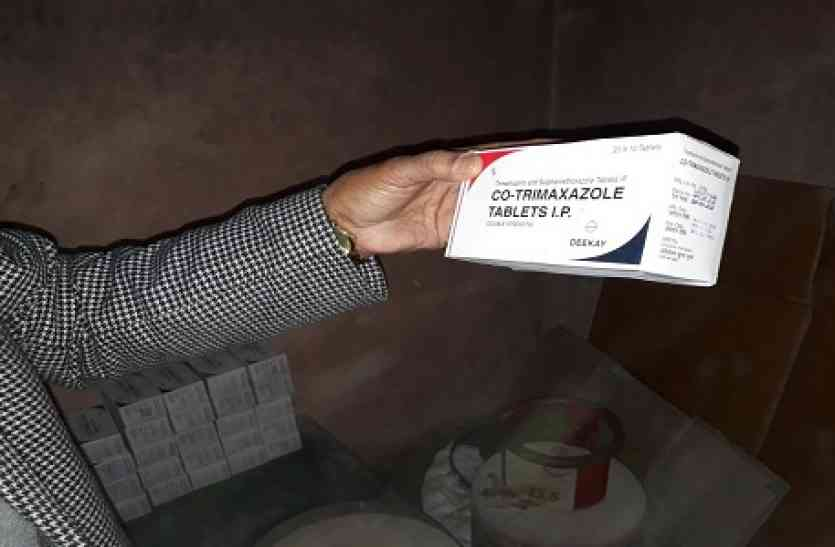 मुरादाबाद से सप्लाई हो रहीं थीं आधे यूपी में नकली दवाईयां, ड्रग्स विभाग के छापे से खुली पोल