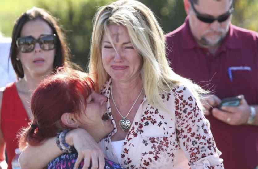 अमरीका: फ्लोरिडा के स्कूल में पूर्व छात्र निकोलस ने की फायरिंग, 17 बच्चों की मौत