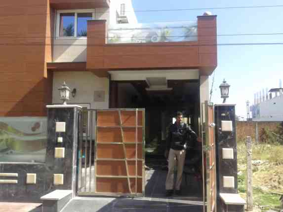 Vinod Agrawal's house