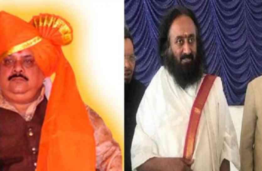 सलमान नदवी का पलटवार, धोखा देकर रविशंकर के करीब आया है अमरनाथ