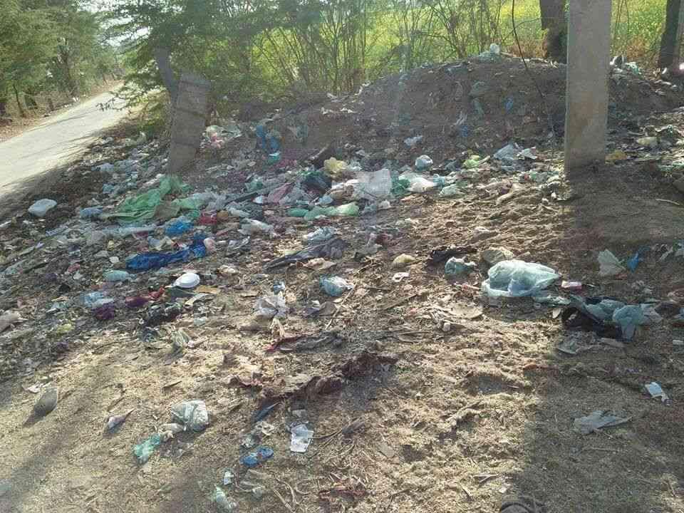 bad condition of tatarpur circle in alwar