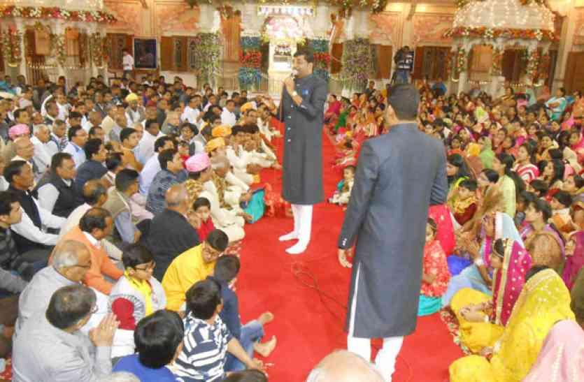मालपुरा में स्वर्ग जयंती समारोह में उमड़ा आस्था का सैलाब
