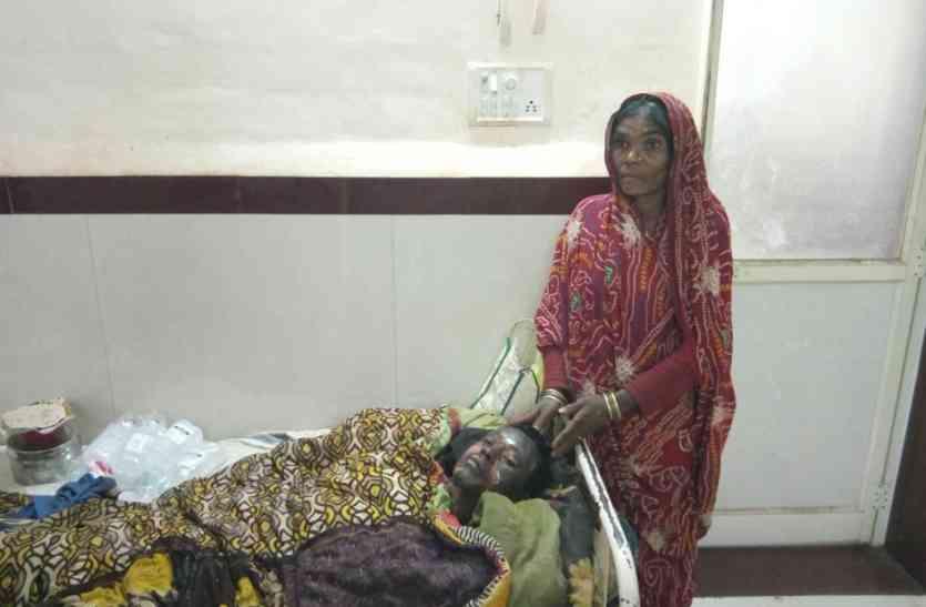 पत्नी को भगाकर ले गए दबंग ने आदिवासी युवक को जिंदा जलाया