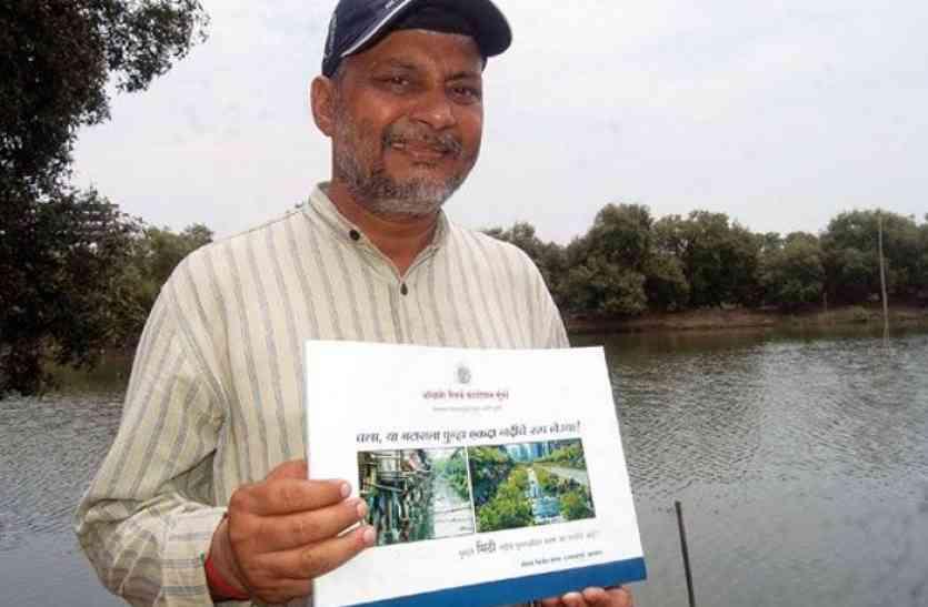 राजस्थान यूनिवर्सिटी पहुंचे 'वाटरमैन' राजेंद्र सिंह- जल संरक्षण रवैये को लेकर सरकार पर साधा निशाना
