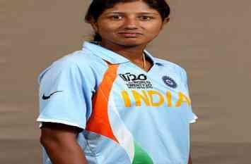 चोटिल झूलन गोस्वामी की जगह रुमेली धार को भारतीय टीम में किया गया शामिल