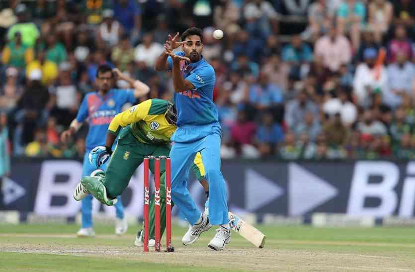 IND vs SA : भुवनेश्वर के पंजे से दक्षिण अफ्रीका पस्त, भारत ने 28 रनों से जीता पहला टी20