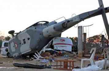 Video: मैक्सिको में आर्मी का हेलिकॉप्टर क्रैश, 3 बच्चों समेत 13 लोगों की मौत