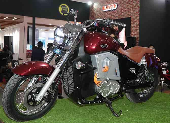 UM Renegade Thor Electric Cruiser Bike