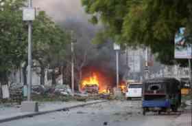 सोमालिया में आत्मघाती कार हमले में 45 की मौत, राष्ट्रपति भवन उड़ाना था मकसद