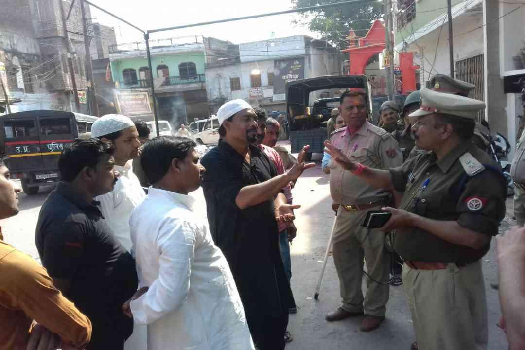 Police in Jaunpur