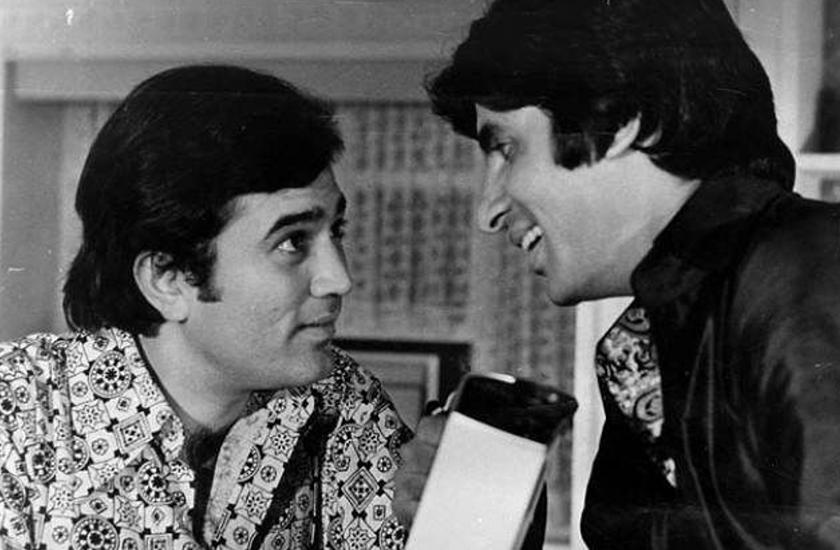 Amitabh Bachchan and rajesh khanna