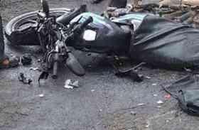 सीकर में सडक़ हादसे में बाइक सवार दो लोगों की दर्दनाक मौत