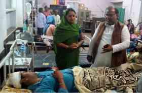 भरतपुर में होली के दौरान रास्ते में पार्षद पु़त्र पर डाला कीचड़, विराेध किया ताे दे मारा फावड़ा
