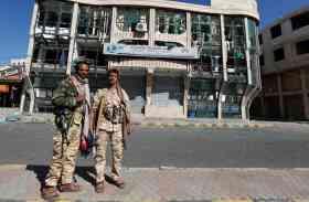 यमन में सरकारी सुरक्षाबलों और हूथी विद्रोहियों के बीच झड़प में 55 की मौत