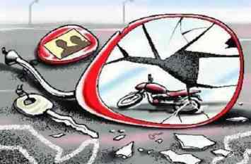 तेज रफ्तार बाइक ने महिला को मारा टक्कर, हालत गंभीर