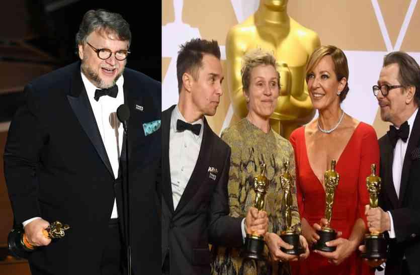 OSCAR WINNERS 2018 : फिल्म 'THE SHAPE OF WATER' ने जीता ऑस्कर , यहां देखें ऑस्कर विजेताओं की  लिस्ट