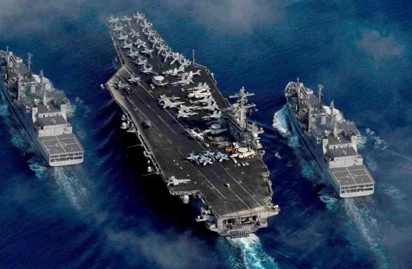 भारत ने समुद्र में शुरू किया नौसैनिक अभ्यास, 17 देशों के युद्धपोत ले रहे हिस्सा