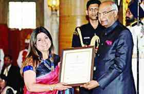 नारी शक्ति पुरस्कार से नवाजी गईं MP की अंबिका, राष्ट्रपति ने किया सम्मानित, यहां पढ़ें श्रेष्ट कार्य