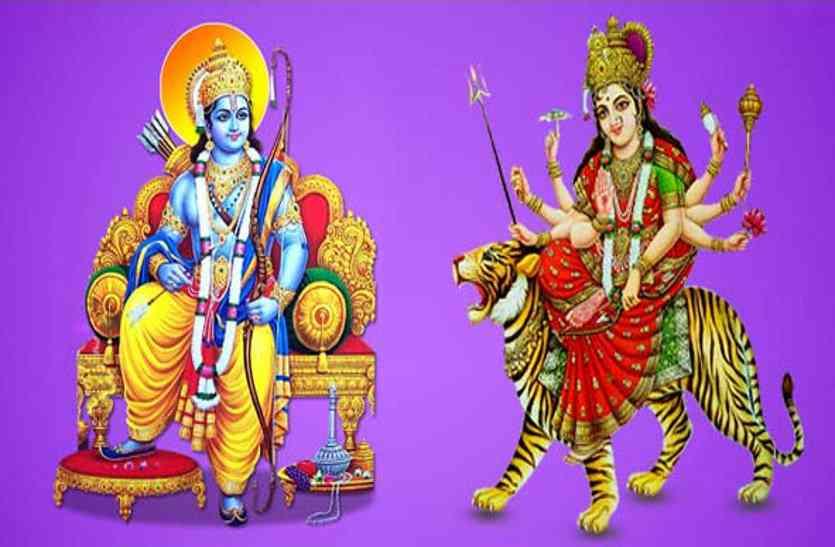 ShreeRam and Maa Durga
