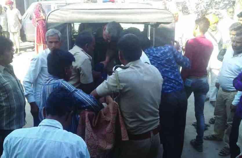 CRIME NEWS :  मारपीट की रिपोर्ट टाइप कराने आए वृद्ध की तहसील कार्यालय के बाहर मौत