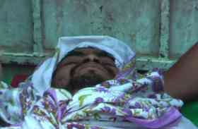अपने पेट्रोल पंप से दो सौ मीटर इस अवस्था में मिला कारगिल शहीद का पुत्र