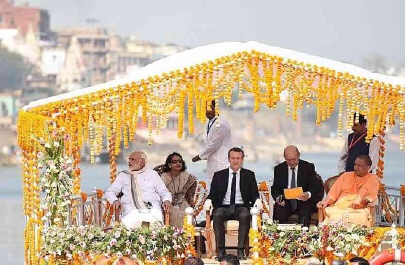 बनारस में पहली बार किसी विदेशी राष्ट्राध्यक्ष का हुआ इतना भव्य स्वागत