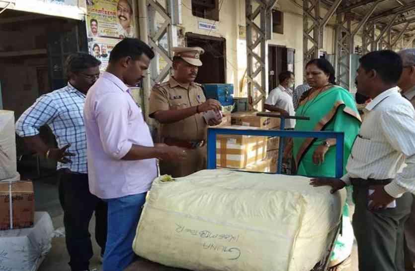 चेन्नई सेंट्रल पर 23 हजार गुटखे के पैकेट जब्त