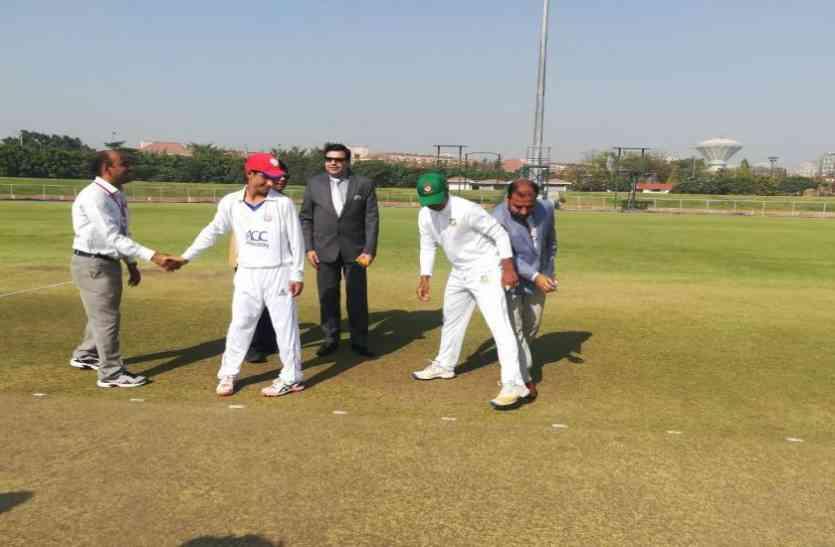 यूपी के उभरते हुए इस शहर में इंटरनेशनल क्रिकेट मैच की शुरुआत, बांग्लादेश-अफगानिस्तान की टीमें है आमने-सामने