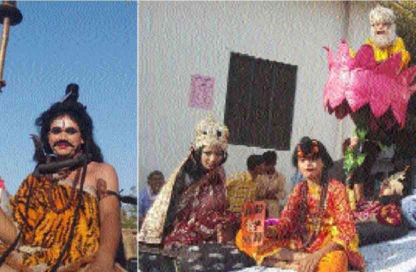 कजानीपुर में लगा हनुमान मेला, इस तरह के अवतारी रूप देखकर मुग्ध हो गए चौबीसा क्षेत्र के श्रद्धालु