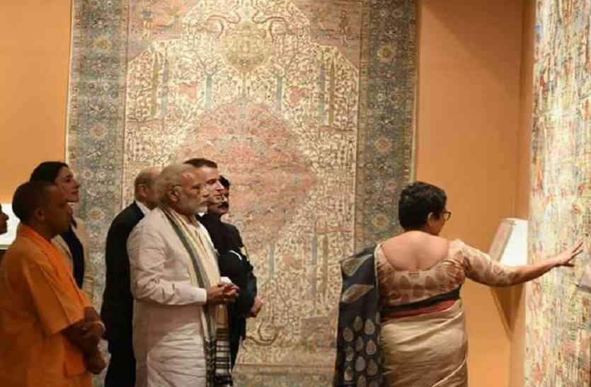 पीएम मोदी और फ्रांसीसी राष्ट्रपति इमैनुअल मैक्रो ने कालीन कारोबारियों में जगाई नई उम्मीद
