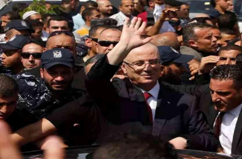 बम धमाके में बाल-बाल बचे फिलिस्तीन के प्रधानमंत्री
