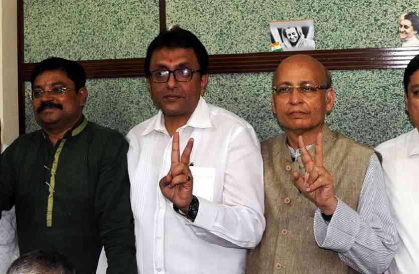 सिंघवी ने बंगाल से भरा राज्यसभा चुनाव का नामांकन