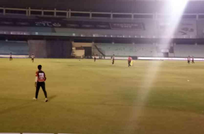 छत्तीसगढ़ टी-२० क्रिकेट लीग -चाहत टाइगर्स की स्वास्तिक ब्लास्टर्स पर जीत