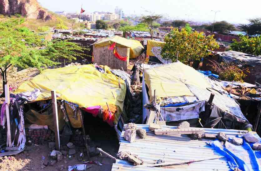 राजधानी में बढ़ रहा कच्ची बस्तियों का दायरा, बस्ती कच्ची और वोट पक्के